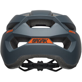 Bell Spark Cykelhjelm, matte slate/orange
